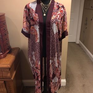 Kimono Cardigan, Duster Length